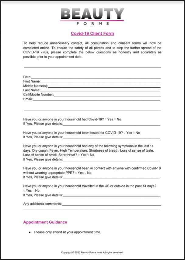 Covid-19 Client PDF