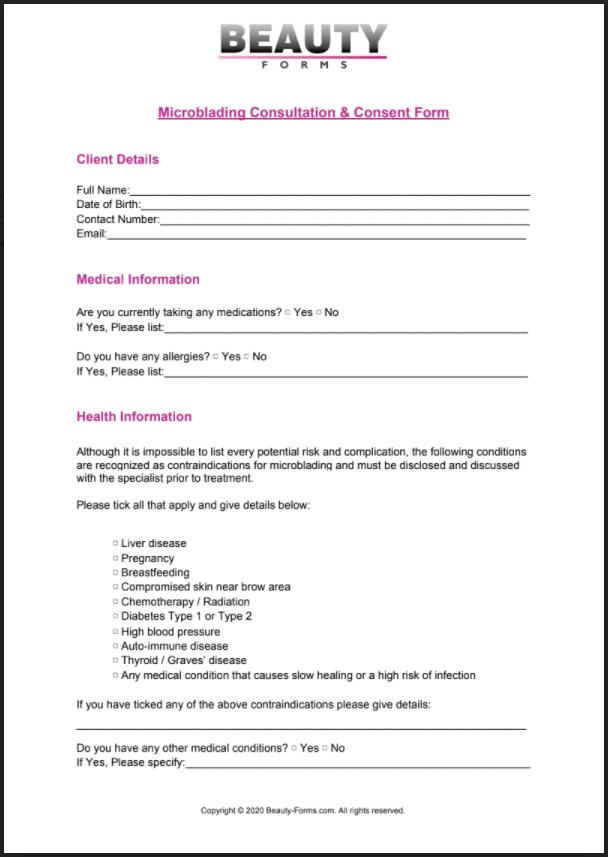 Microblading PDF