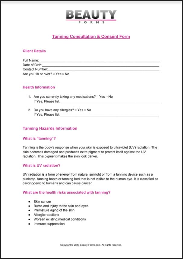 Tanning PDF
